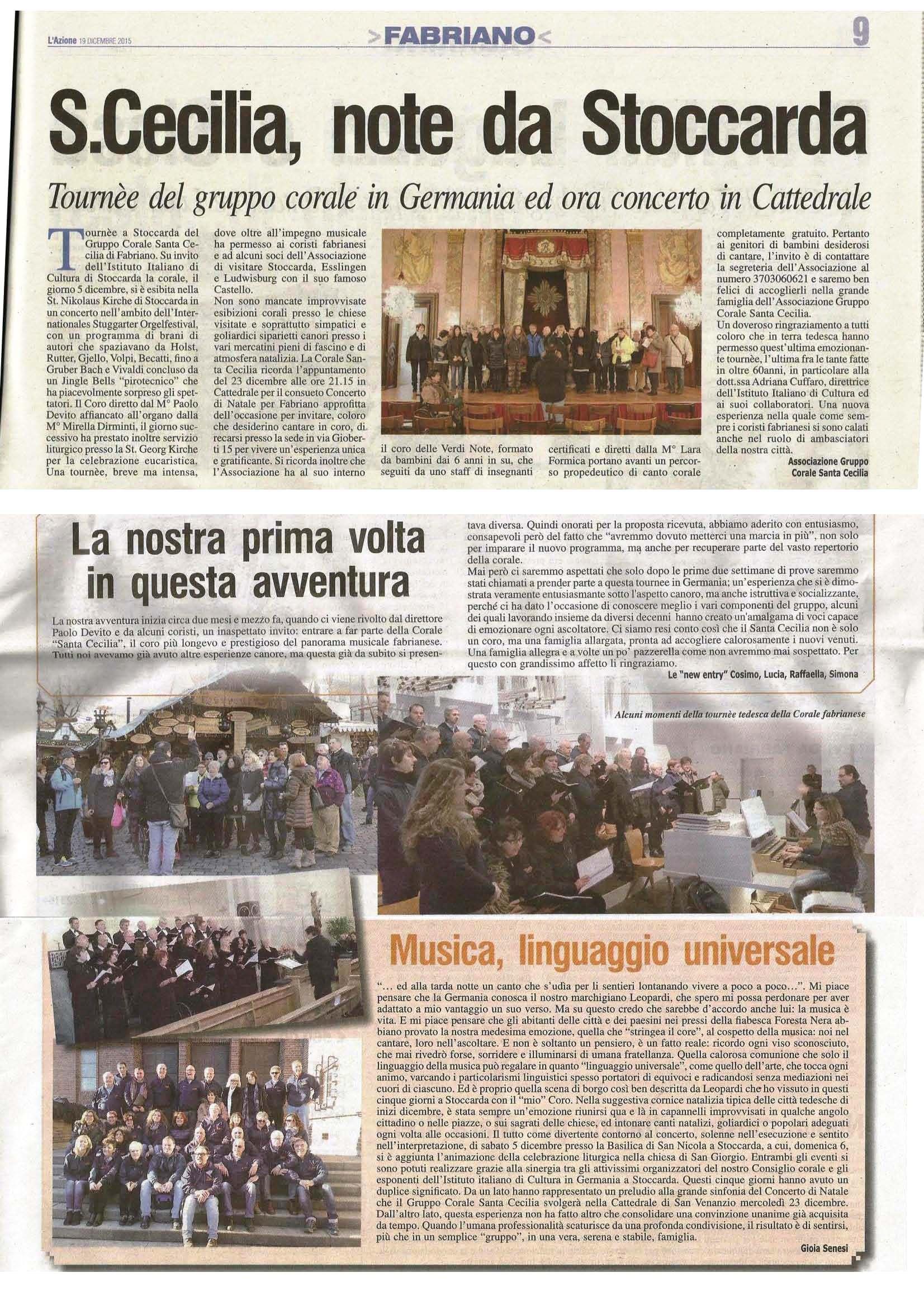 Pagina da L'Azione