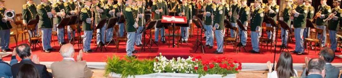 """Città di Castello La """"bandiera sonora"""" del corpo si è esibita nella chiesa di San Domenico"""
